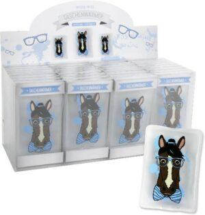 Taschenwärmer Pferd - Handwärmer Taschenheizkissen Pferdekopf