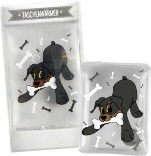 Taschenwärmer Rottweiler Duke, Hugster - Handwärmer Taschenheizkissen