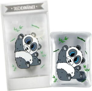 Hugster Taschenwärmer Panda Handwärmer Pandabär Taschenheizkissen