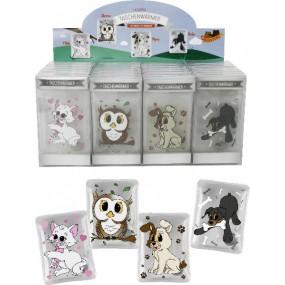 Taschenwärmer Hugster, Hund, Katze, Eule, Rottweiler - Handwärmer Taschenheizkissen
