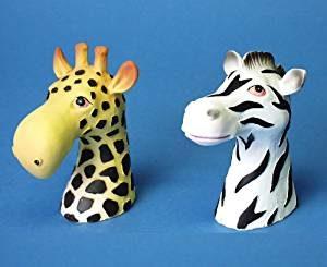Giraffe Brillenhalter Zebra Brillennase - Safari Brillenablage Afrika