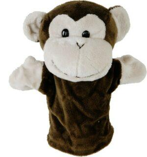 Handpuppe Affe Toto Kuscheltier Plüschtier - Schmusetier Schimpanse