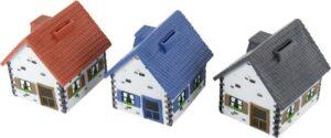 Spardose Haus - Sparen für das Traumhaus - Sparschwein Eigenheim