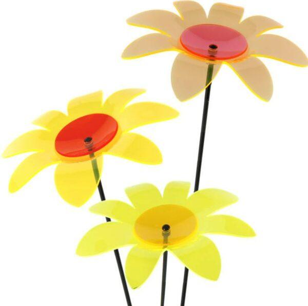 Gartenstecker Margerite Sonnenfänger Lichtspiel Lichtfänger, Acryl