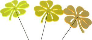 Gartenstecker Kleeblatt Sonnenfänger Lichtspiel Lichtfänger, Acryl
