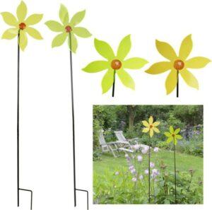 Windrad Sonnenfänger Lichtspiel Gartenstecker, Acryl