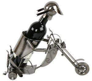 Flaschenhalter Motorrad aus Metall - Flaschenständer Trike Motorradfahrer- Biker - Chopper