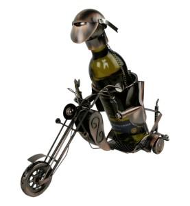 5Weinflaschenhalter Motorradfahrer Harley Davidson Biker Motorrad 28388.1.jpg