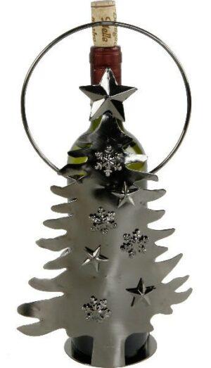 flaschenhalter weinflaschenhalter metallfiguren skulpturen. Black Bedroom Furniture Sets. Home Design Ideas