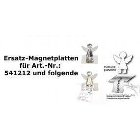 Ersatz Magnet Platte für Schutzengel Parkscheinhalter, Zettelhalter-Magnethalter-Notizhalter-Fotohalter