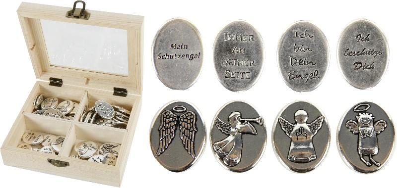 Engeltaler Engelmünze Schlüsselanhänger Münze Ich bin bei Dir VERSANDKOSTENFREI!