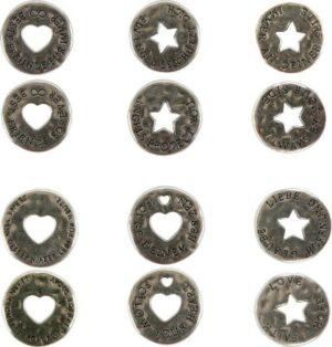 Schutzengel Wunsch-Münze Talisman - Glückstaler - Wunschmünze - Handschmeichler Glücksbringer Engeltaler