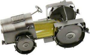 Flaschenhalter Traktor - Metall Weinflaschenhalter Trecker