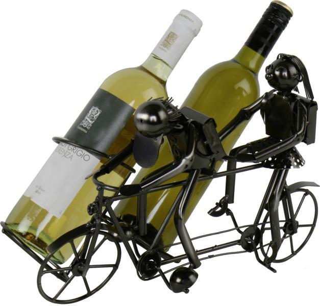 flaschenhalter tandem fahrrad weinflaschenhalter f r zwei flaschen. Black Bedroom Furniture Sets. Home Design Ideas