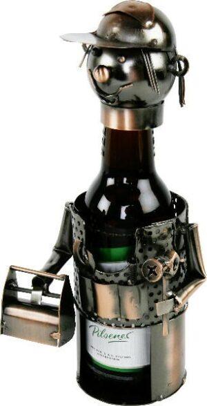 Flaschenhalter Handwerker Piccolo - Metall Bierflaschenhalter Klempner - KFZ Schlosser