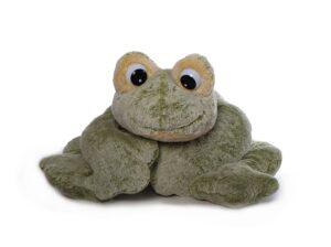 Freaky Frosch Plüschtier mini-XXL , grün-gelb, 23-97cm - Kuschelfrosch Schmusetier aus schadstofffreiem Material