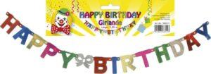 Geburtstags Girlande Happy Birthday - 250cm Buchstabengirlande aus Papier