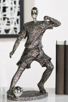 Skulptur Fußballspieler skulptur Soccer Fussball Fußballer 59955.jpg