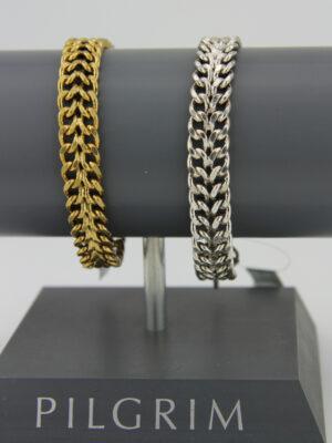 Pilgrim breites Armband mit Steckverschluss - Ethno Style