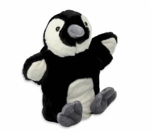 Handpuppe Pinguin Kuscheltier Plüschtier - Schmusetier - Super Soft Plüsch