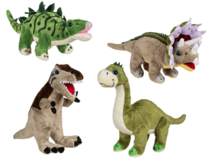 Stofftier Dino Saurier Langhals Brontosaurus wie Littlefoot - Plüschtier Fezzi Kuscheltier Brachiosaurus 20-33cm