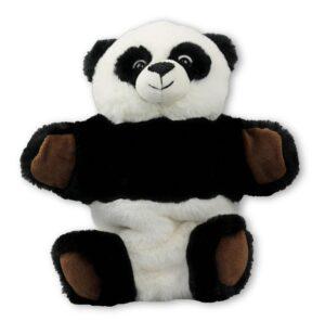 Handpuppe Panda Kuscheltier Plüschtier - Schmusetier - Super Soft Plüsch Pandabär