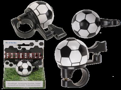 Fußball Fahrradklingel - Metall-Klingel für Fahrräder - Bikefashion - Fahrradzubehör