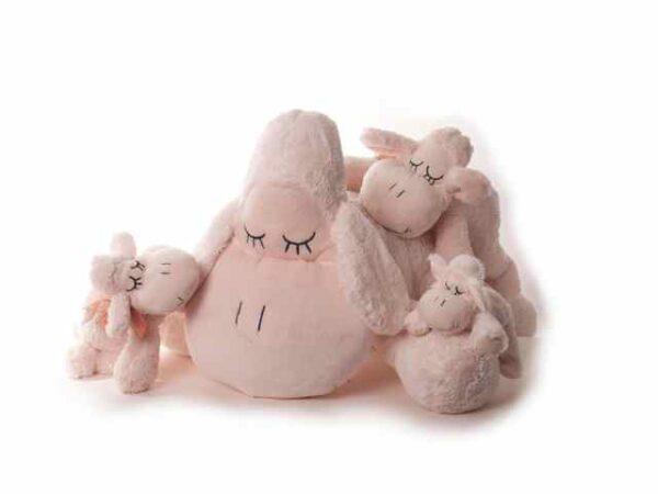 Kuscheltier Schaf Sleepy, weiß, XS - XXL Plüschtier Schaf beige