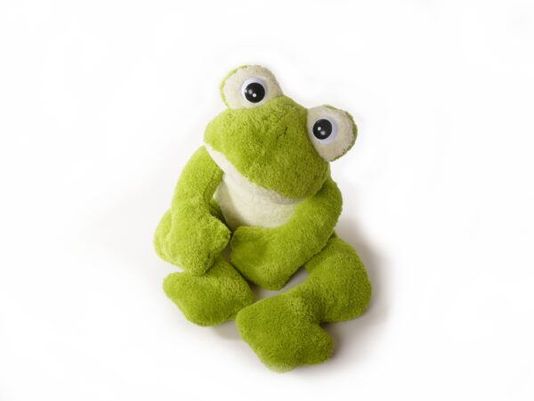 Freaky Frosch Kuscheltier mini - XXL,grün Plüschtier Kuschelfrosch - Super Soft Plüsch 6228