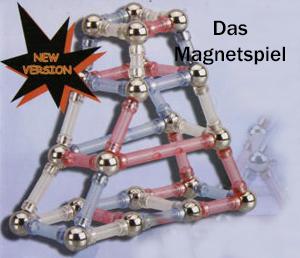 Creamagnetic Magnetspiel Baukasten