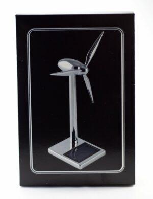 Solar Metall Windgenerator Windturbine 17 cm, Eolienne - Enercon Windmühle - Windturbine - Windkraftanlage - Windenergie