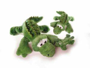 XXL Kuscheltier Krokodil Kroko, 100 cm, Schmusetier - Riesen Plüschtier - Super Soft Plüsch - Schmusetier Spielzeug aus schadstofffreiem Material