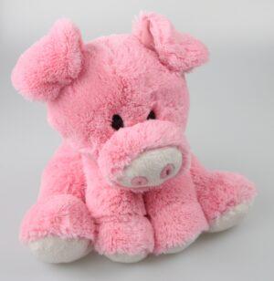 Kuscheltier Schwein Luuli, hockend, rosa Schmusetier - Plüschtier - Super Soft Plüsch