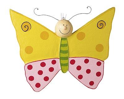 Mila Schmetterling Lovely Butterflies gelb