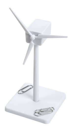 Enercon Mühle Windgenerator magnetisch ABS weiß - Bausatz - Windmühle - Windturbine - Windkraftanlage