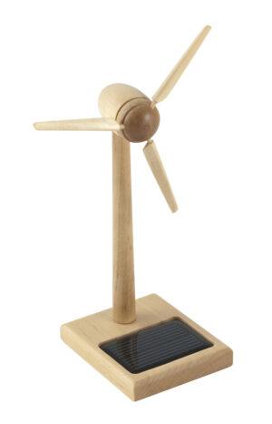 Mini Solar Windgenerator Holz FSC Bausatz Enercon Windmühle - Windturbine - Windkraftanlage - Windenergie