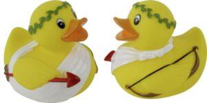 Amore Ente - Badeente Liebesboote - Badequietscheentchen mit Pfeil und Bogen