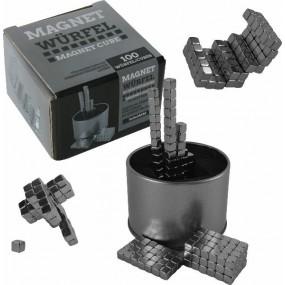 Magnetic Cube Magnetwürfel - Magnetspiel - Permanent Magnet Würfel 5mm - Naturwissenschaftliches Spielzeug - Physikalisches Modell