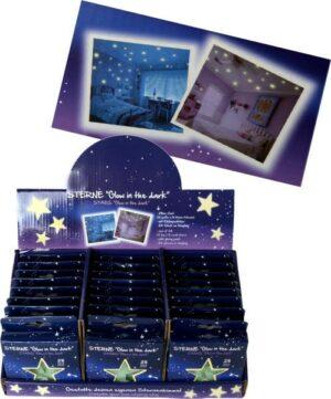 Sterne, Glow in the dark, 28er Set - Traumsterne - Leuchtsterne im Geschenkset