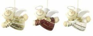 Mila Pappmache Himmelsbote fliegend - männlicher Schutzengel zum hängen