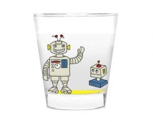 Mila Roboter Glas, klein- Trinkglas 250 ml