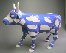 CowParade Large Sky Cow große Kuh