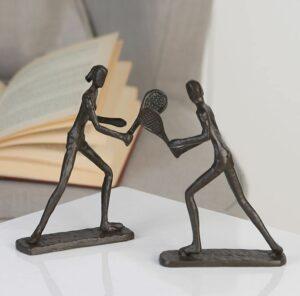 Tennisspieler Skulpturen
