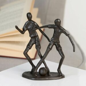 Fußballspieler Skulptur