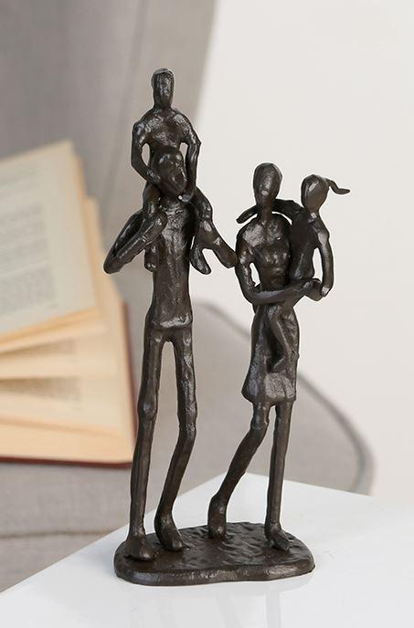Familien Design Skulptur