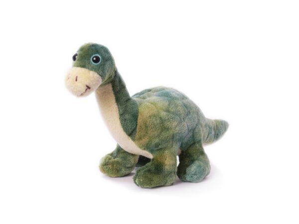 Stofftier Dino Saurier Langhals Brontosaurus wie Littlefoot - Plüschtier Kuscheltier Brachiosaurus 19cm