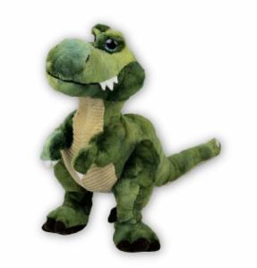 Stofftier T-Rex Dino Saurier grün - Plüschtier Kuscheltier