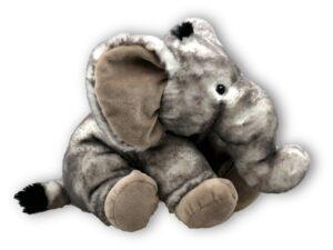 Kuscheltier Elefant Plüschtier - Schmusetier Super Soft Plüsch 18 cm