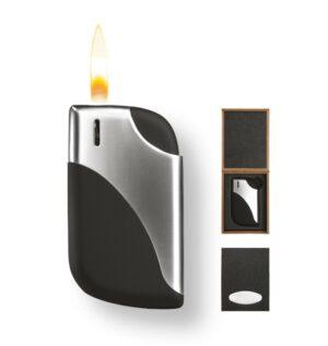 """Handschmeichler Feuerzeug Metmaxx® """"CurveFire"""" mit Geschenkbox, wiederbefüllbar 760-00.001_box"""