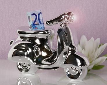 Casablanca spardose roller moped mofa deko vespa - Roller deko ...